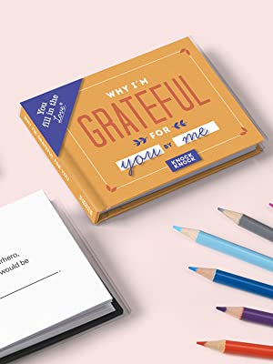 Why I'm Grateful for You gift book - Friendship gifts to express your gratitude