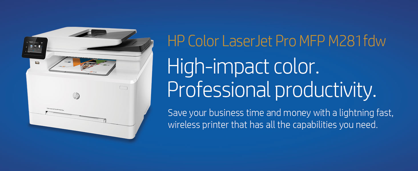 business office MFP multifunction color laser printer professional productive productivity