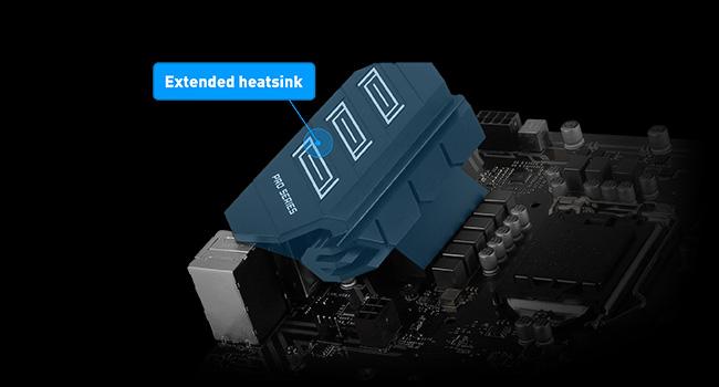 Extended Heatsink Design