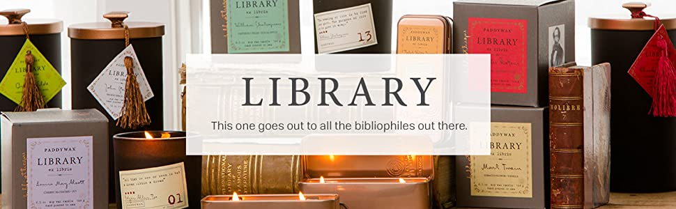 Library Soy Wax Candles