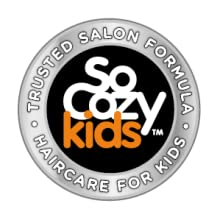SoCozy is a line of premium, salon quality line of haircare products designed for kids