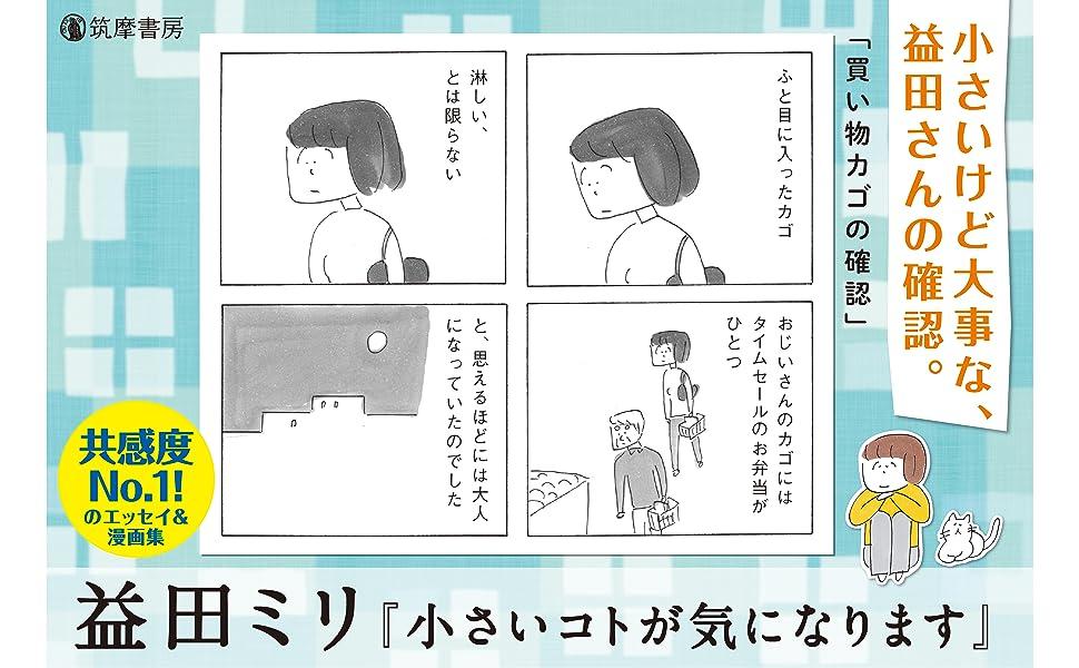 益田ミリ 小さいコトが気になります コミックエッセイ すーちゃん マリコ、うまくいくよ 共感