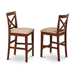 Amazon.com: East West Furniture pubs5-brn-c 5-Piece Contador ...