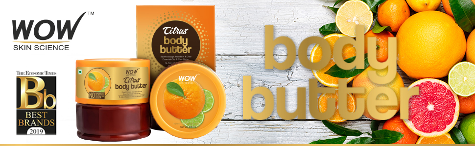 WOW Skin Science Citrus Body Butter