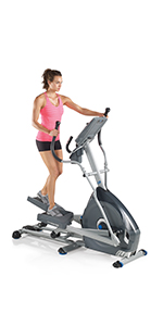 Nautilus Fitness Elliptical Trainer Indoor Equipment Cardio Workout E614