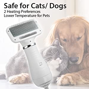 low temperature for pets safety hair dryer for pets dogs cats