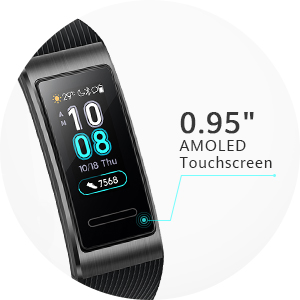 fitness watch with touchscreen