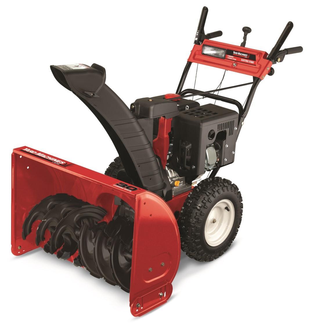 Amazon.com : Yard Machines 357cc 30-Inch Two-Stage Gas ...