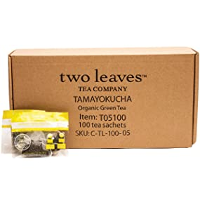 two leaves and a bud Organic Tamayokucha Green Tea