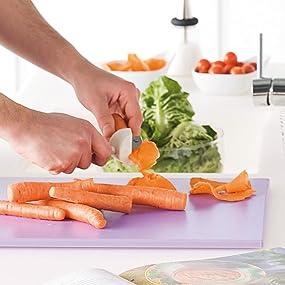 Compra Metaltex - Tabla de cocina, Polietileno, Blanco, 38 x 28 x ...