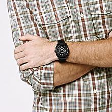 machine chronograph black