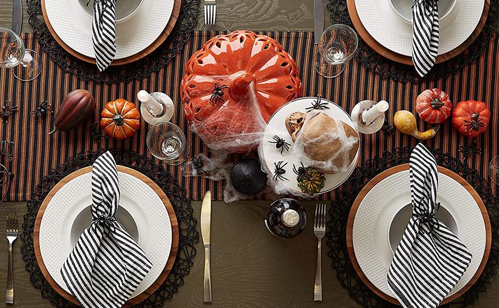 hallowen table runner,haloween cotton candy,halloween party,halloween table runner,awesome halloween