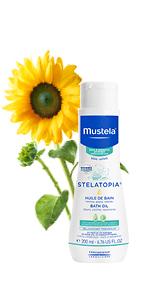 Mustela Stelatopia Bath oil