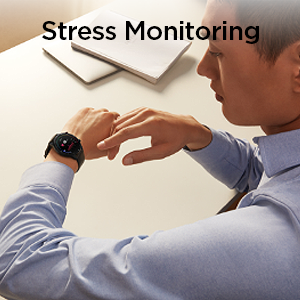 Stress Monitoring Smartwatch