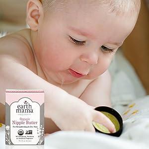 Organic Nipple Butter the first Non GMO nursing cream