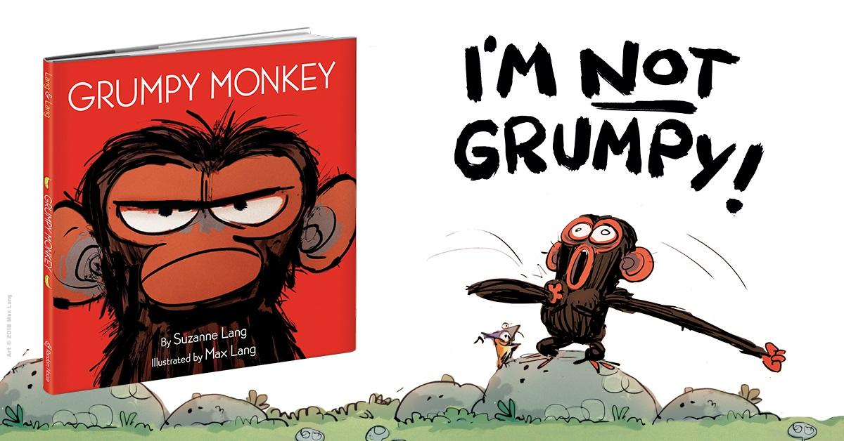 Grumpy Monkey: Suzanne Lang, Max Lang: 9780553537864: Amazon