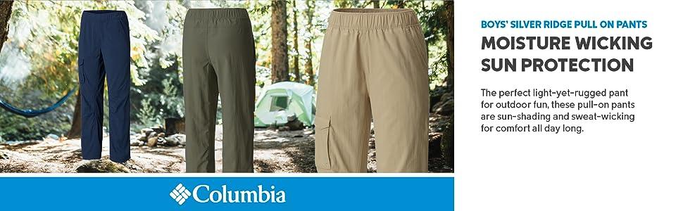 Columbia Boy's Silver Ridge Pull On Pants