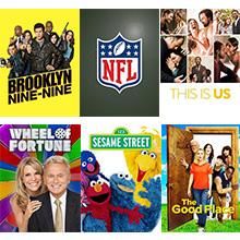 tablo, primetime, tv, shows, sports, nfl, comedy