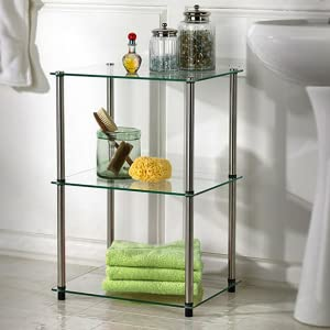 glass bathroom furniture