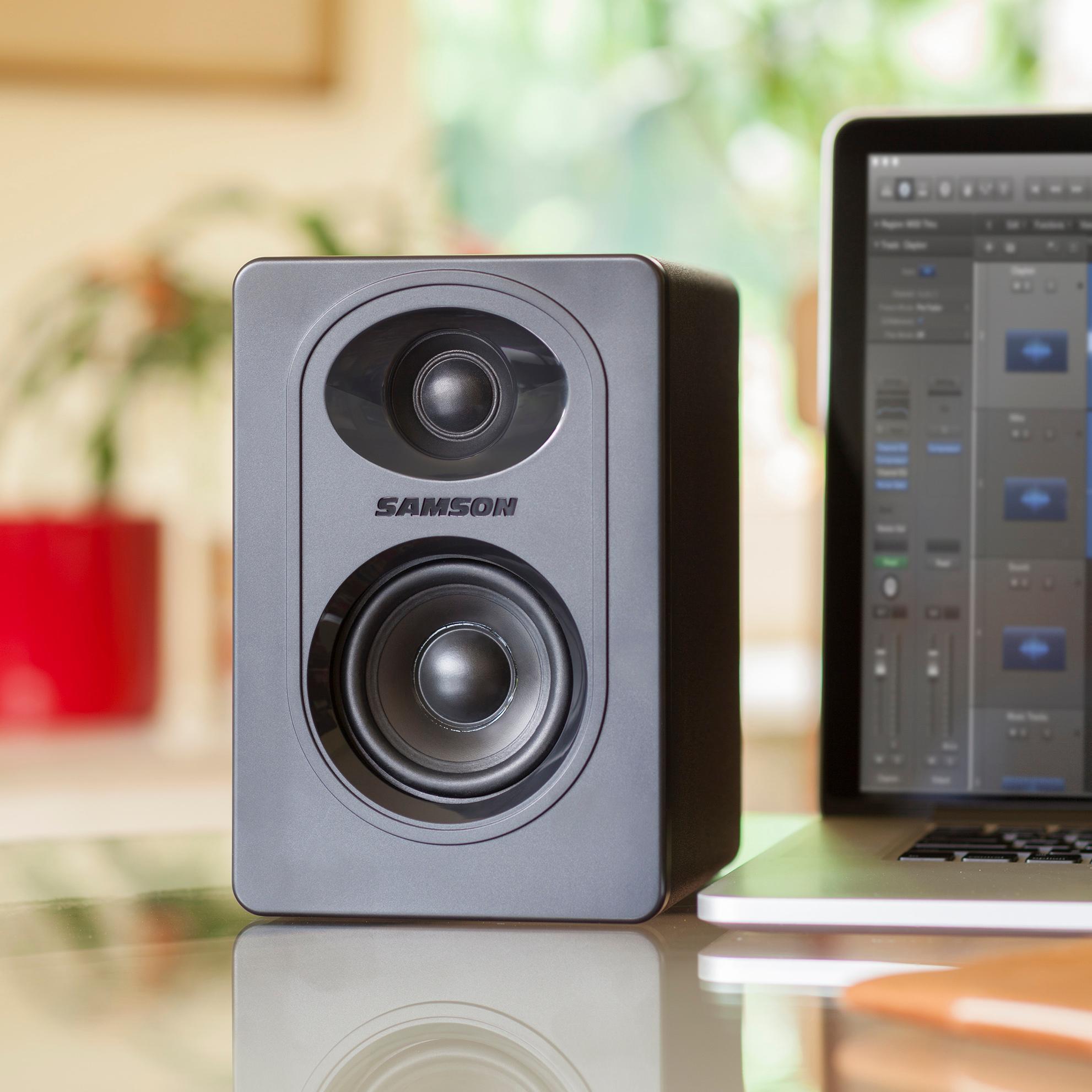 Amazon.com: Samson Studio Monitor, 3-Inch (M30): Musical