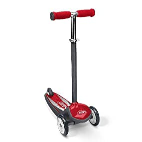 Radio Flyer Color FX EZ Glider 3 Wheel Scooter, Red