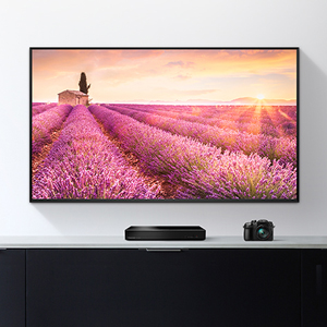 Reproducing beautiful memories on a large screen