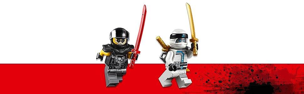 LEGO Juniors/4+ Zanes Ninja Boat Pursuit 10755 Building Kit (131 Piece)