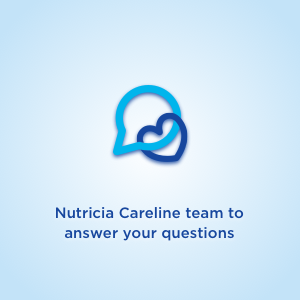 Nutricia Careline team to answer your questions