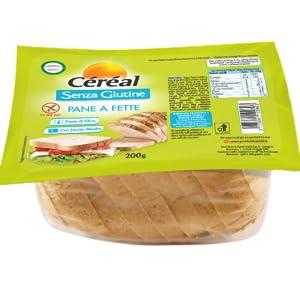pane senza glutine, pane a fette senza glutine, pan bauletto senza glutine, pane in cassetta senza