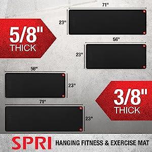 SPRI Hanging Exercise Mats