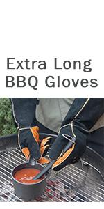 suede bbq gloves