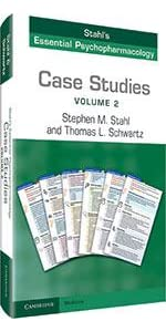 stahl's essential psychopharmacology case studies book cover
