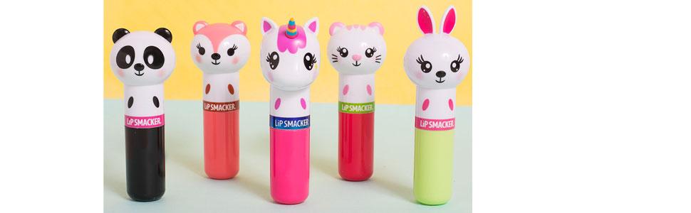 lipsmacker;lip smacker;lip gloss;chapstick;lipstick;kids makeup;flavored lip balm;starter makeup