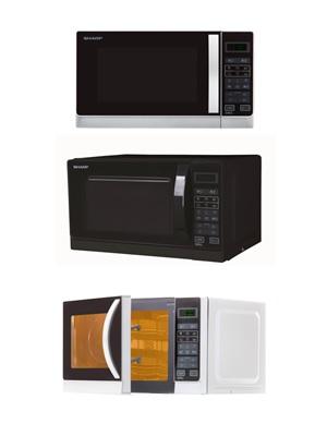 Sharp R642WW Mikrowelle 20L weiß