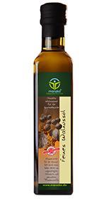 manako Walnussöl, raffiniert, 100% rein, 250 ml Glasflasche (1 x 0,25 l)