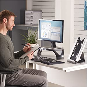 desktop copyholder, copyholder, copy, holder, copy holder, fellowes, fellowes inc.