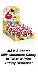 A M&M'S Chocolate Bunny Dispenser is a great Easter gift for baskets.