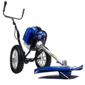 HYUNDAI HY-HYWT5080 Desbrozadora A Gasolina, 1560 W, Azul: Amazon.es: Bricolaje y herramientas