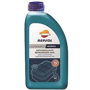 Repsol RP700W34 Anticongelante Refrigerante 50%, 1 L: Amazon.es: Coche y moto