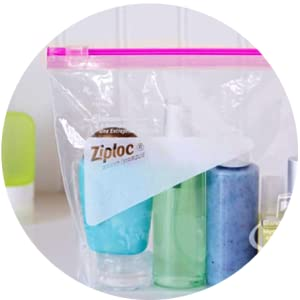 Ziploc-IT'S A SHOWER CADDY