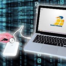 Einfache und sichere Authentisierung und Authentifizierung mit RFID Transponder Datenträger