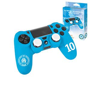 jersey om olympique de marseille dualshock 4 controller personalizzazione accessorio gamer in silicone ps4