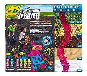 Crayola Sidewalk Paint Sprayer