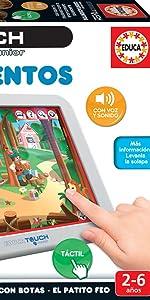 Amazon.es: Educa Touch - Junior Conta Histórias, Juego ...