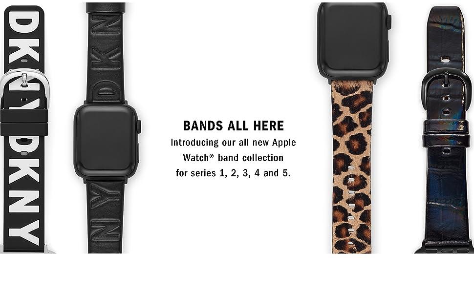 DKNY apple straps Fall 2019