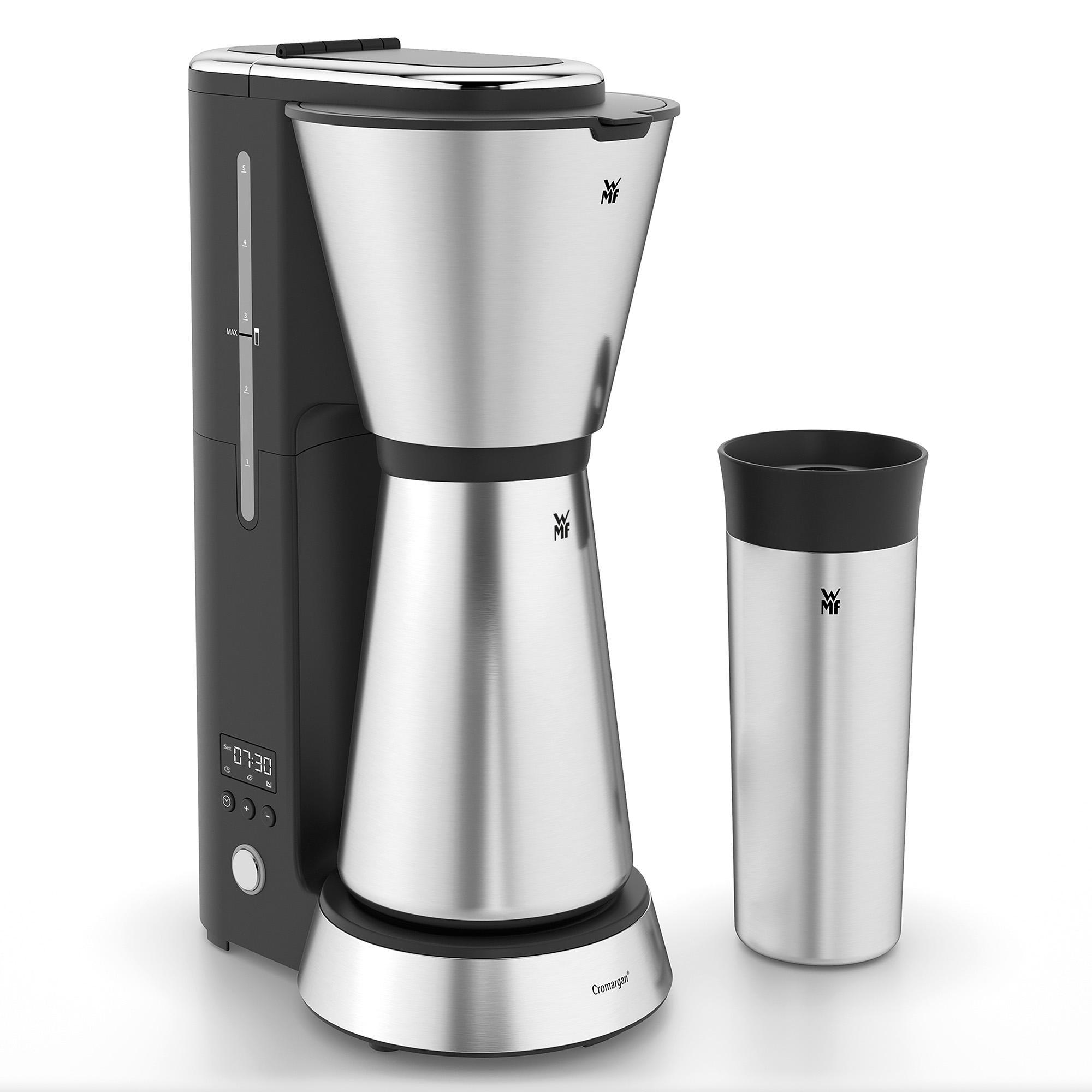 wmf k chenminis aroma filterkaffeemaschine mit isolierkanne 750 ml und. Black Bedroom Furniture Sets. Home Design Ideas