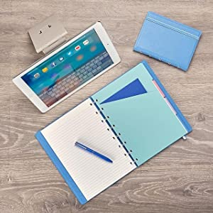FILOFAX REFILLABLE NOTEBOOK CLASSIC, 9.25