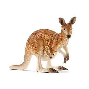 kangaroo, schleich kangaroo, schleich animals, aussie animals, schleich figurines, animal figurines
