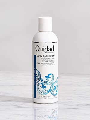 ouidad curl quencher moisturizing styling gel for curly hair