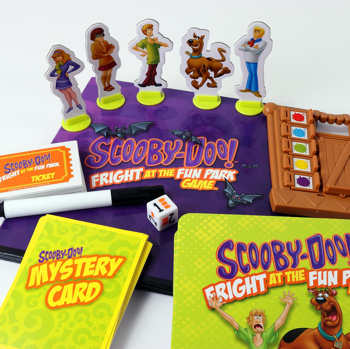 Amazon.com: Scooby-Doo! Fright at the Fun Park Game: Toys